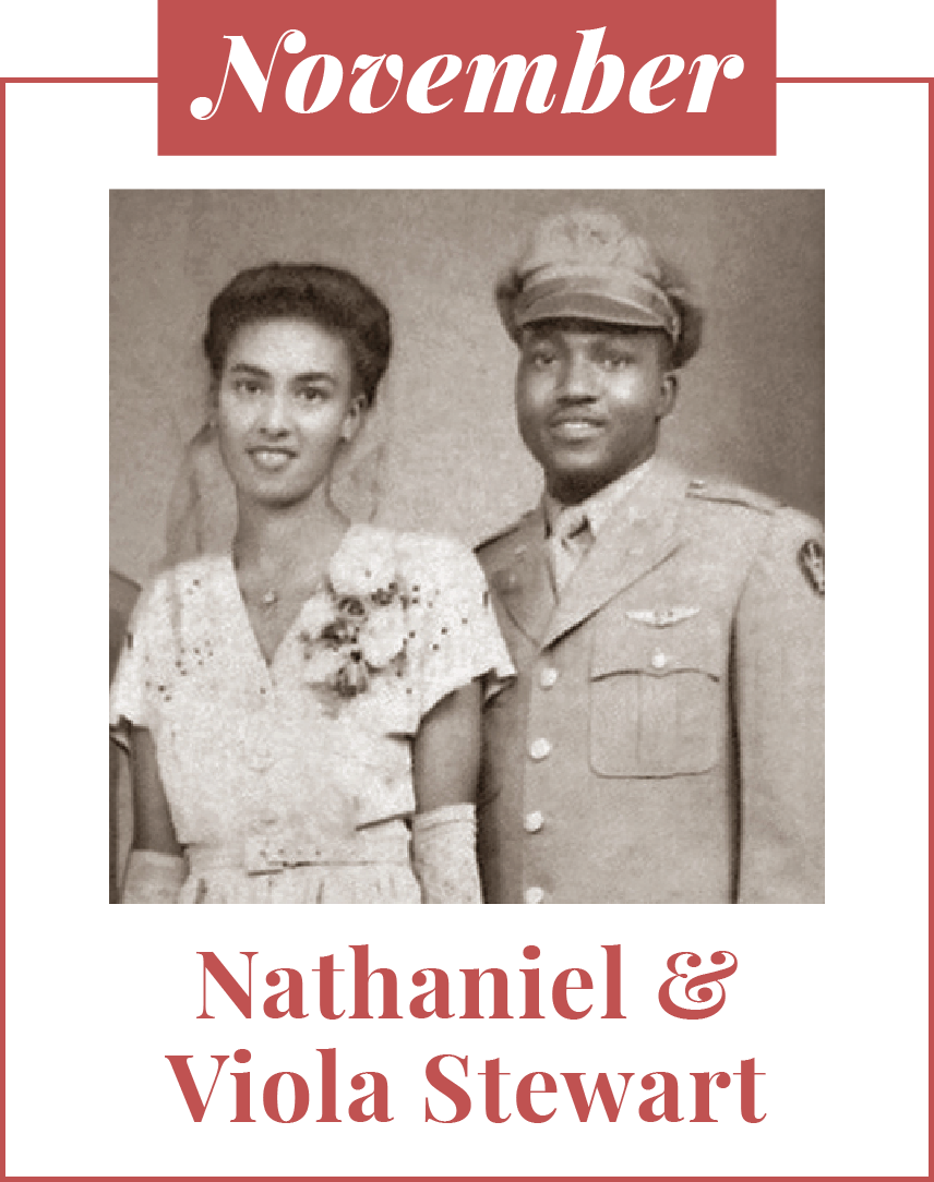 Nathaniel & Viola Stewart
